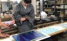【京都】染め工房見学・体験講座